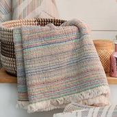 Maya Rainbow Hand Towel 19 x 39, Cotton