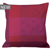 "Mille Couleurs Pivoine Cushion Cover  20""x20"", Organic Cotton"