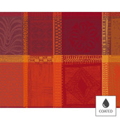 Placemats Mille Wax Ketchup, Coated - 4ea
