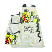 Spice Up Your Life Pepper Kitchen Set