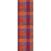 "Mille Alcees Feu Tablerunner 22""x71"", 100% Cotton"
