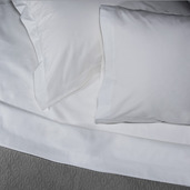 Pack of 2 Monaco Queen Flat Sheet