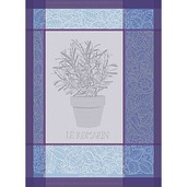 "Kitchen Towel Romarin Indigo 22"" x 30"" - 2ea"