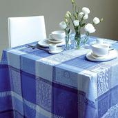 "Mille Wax Ocean Tablecloth 45""x45"", Cotton"