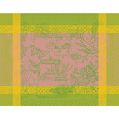 "Spring Green Placemat 14""x18"", GS Stain Resistant"
