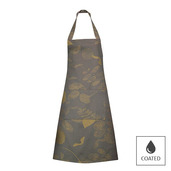 Mille Feuilles Bronze Apron, Coated