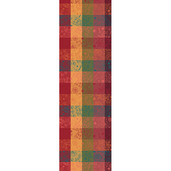 "Mille Alcees Litchi Tablerunner 22""x71"", 100% Cotton"