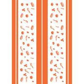 La Cocotte Papaye Printed Kitchen Towel