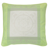 "Eugenie Amande Cushion Cover  20""x20"", 100% Cotton"
