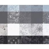 """Mille Couleurs Orage Placemat 16""""x20"""", 100% Cotton"""