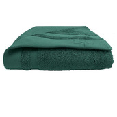 "Ligne Bambou Turquoise Bath Towel 28""x55"", Bamboo/Cotton"