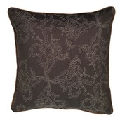 "Mille Eternel Ebene Cushion Cover 16""x16"", Cotton-2ea"