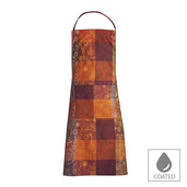 "Mille Alcees Feu Apron 30""x33"", Coated Cotton"