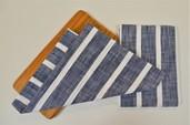 Dobby stripe Kitchen Towel Blue, 100% Cotton