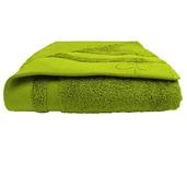 "Ligne Bambou Green Bath Towel 28""x55"", Bamboo/Cotton"