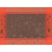 "Poetree Rose Placemat 21""x15"", GS Stain Resistant"