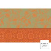 Amandier Set Vert Placemat, GS Stain Resistant-4ea