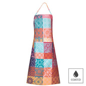 Mille Tiles Multicoloured Apron, Coated