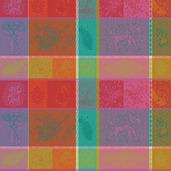 """Mille Holi Festival 19""""x19"""" Napkin, 100% Cotton - Set of 4"""