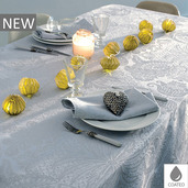 Mille Isaphire Angelite Tablecloth Round 69, Coated Cotton