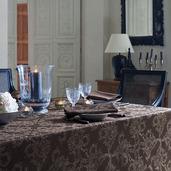 Mille Eternel Ebene Tablecloth round 71, Cotton