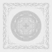 "Comtesse Blanc Blanc Napkin 21""x21"", 100% Cotton"