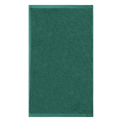 """Ligne Bambou Turquoise Guest Towel 12""""x20"""", Bamboo/Cotton"""