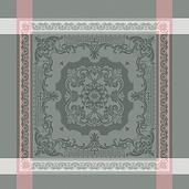 """Renaissance Gris Poudre  Napkin 22""""x22"""""""", Cotton"""