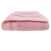 "Ligne Bambou Rose Bath Towel 28""x55"", Bamboo/Cotton"