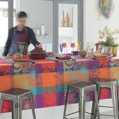 Mille Tornades Pop Tablecloth round 71, Cotton