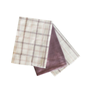 Soft Lavendar Kitchen Towels - 3PC SET