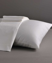 Paris White 400TC King Pillow Shams /2ea
