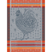 Coq Design Orange Kitchen Towel