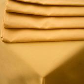 Plain Satin Cottonrich Gold Tablecloth Square 90x90