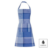 Apron Mille Wax Ocean, Coated - 1ea