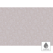 Mille Charmes Rose Fume Placemat, Coated Cotton