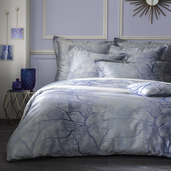 """Origami Grey Fitted Sheet 72""""x84"""", 100% Cotton"""