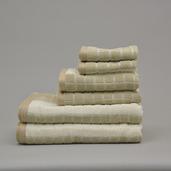 Venezia Natural 6 pieces Bath Set, 100% Cotton.