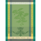 "Brin de The Vert 22""x30"" Kitchen Towel, 100% Cotton"
