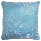 "Mille Coraux Ocean Cushion Cover 16""x16"", 100% Cotton"
