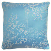 "Mille Coraux Ocean Cushion Cover 16""x16"", 100% Cotton"