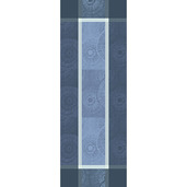 "Sunshine Blue Tablerunner 61""x22"", Cotton"