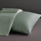 Divine Collection Sage King Set of Two Pillow Cases 600TC, 100% ELS Cotton.