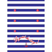Mariniere Etre Printed Kitchen Towel