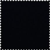 "Plain Black Polyester Tablecloth Round 120"" Rnd"
