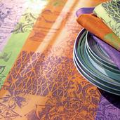 "Mille Patios Provence Tablecloth 35""x35"", Cotton-2ea"