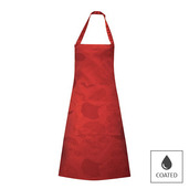Mille Feuilles Rouge Apron, Coated