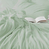 Dream Collection Laurel Green Queen Sheet set