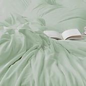 Desire Collection Laurel Green Queen Sheet set