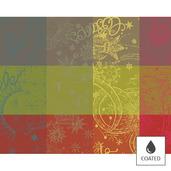 """Mille Couleurs Paris Placemat 16""""x20"""", Coated Cotton"""